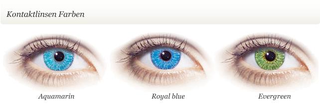 Softcolors farbige Kontaktlinsen