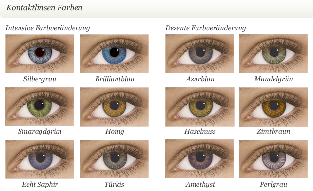 Freshlook One Day Color Contacts