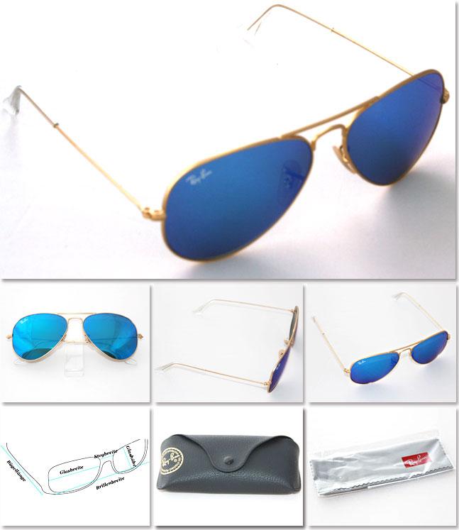 Ray Ban Aviator Marken Sonnenbrille hier preiswert und